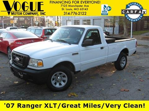 2007 Ford Ranger for sale in Saint Louis, MO