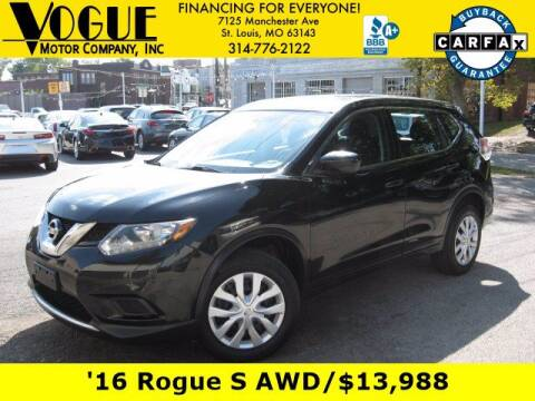 2016 Nissan Rogue for sale at Vogue Motor Company Inc in Saint Louis MO