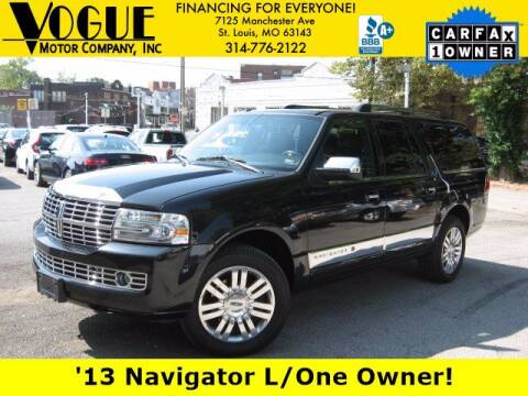 2013 Lincoln Navigator L for sale at Vogue Motor Company Inc in Saint Louis MO