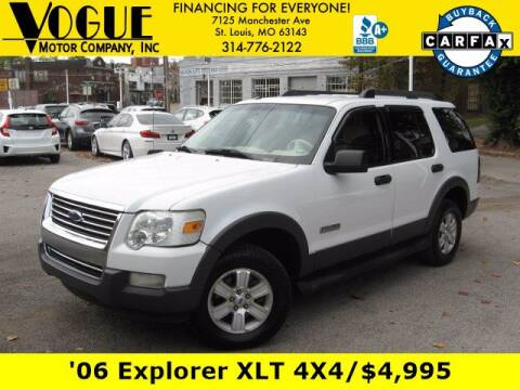 2006 Ford Explorer for sale at Vogue Motor Company Inc in Saint Louis MO