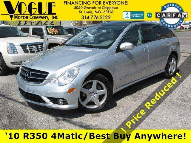 2010 Mercedes-Benz R-Class for sale at Vogue Motor Company Inc in Saint Louis MO