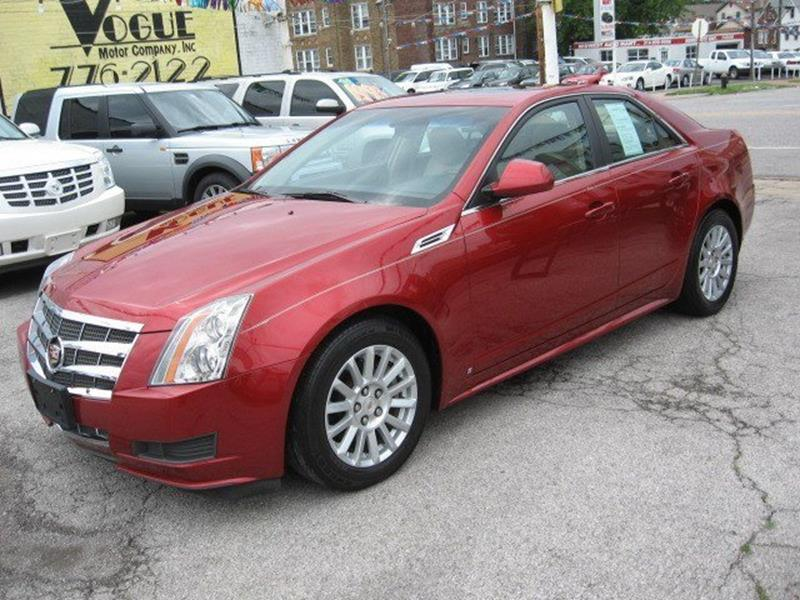 2010 Cadillac CTS for sale at Vogue Motor Company Inc in Saint Louis MO