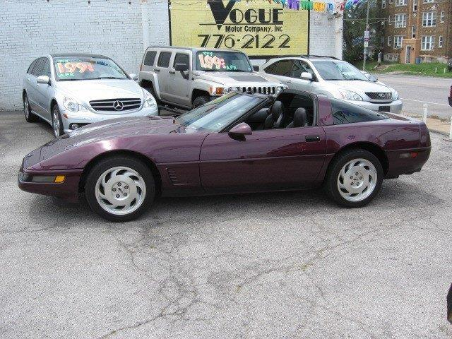 1995 Chevrolet Corvette for sale at Vogue Motor Company Inc in Saint Louis MO