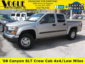 2008 GMC Canyon for sale at Vogue Motor Company Inc in Saint Louis MO