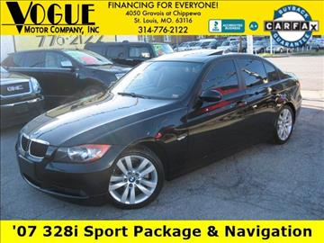 2007 BMW 3 Series for sale at Vogue Motor Company Inc in Saint Louis MO
