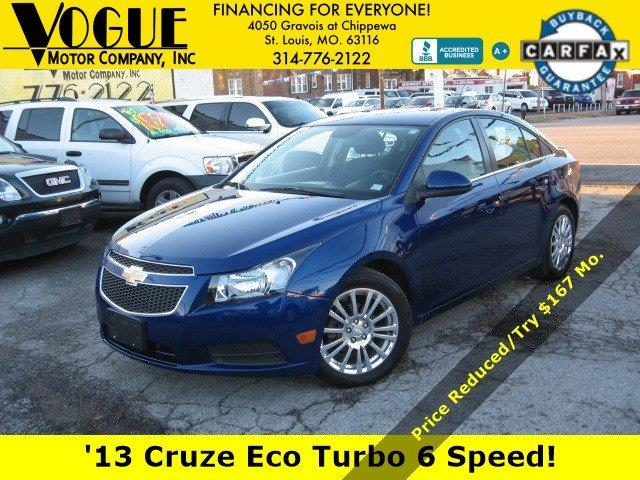 2013 Chevrolet Cruze for sale at Vogue Motor Company Inc in Saint Louis MO