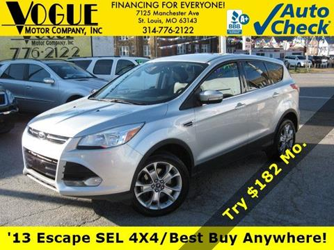 2013 Ford Escape for sale at Vogue Motor Company Inc in Saint Louis MO
