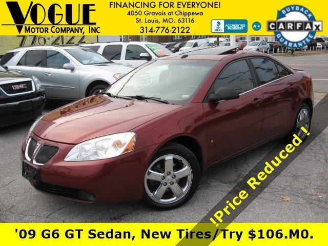2009 Pontiac G6 for sale at Vogue Motor Company Inc in Saint Louis MO