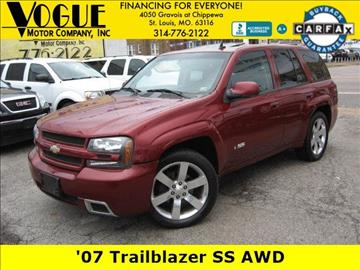 2007 Chevrolet TrailBlazer for sale at Vogue Motor Company Inc in Saint Louis MO