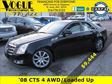 2008 Cadillac CTS for sale at Vogue Motor Company Inc in Saint Louis MO