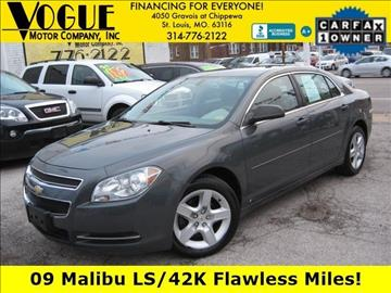 2009 Chevrolet Malibu for sale at Vogue Motor Company Inc in Saint Louis MO