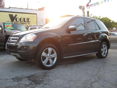 2009 Mercedes-Benz M-Class for sale at Vogue Motor Company Inc in Saint Louis MO