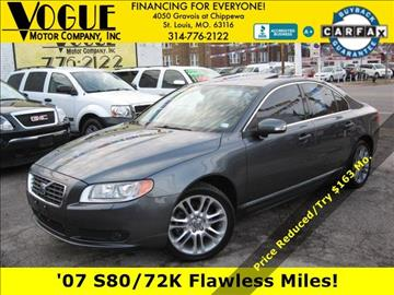 2007 Volvo S80 for sale at Vogue Motor Company Inc in Saint Louis MO