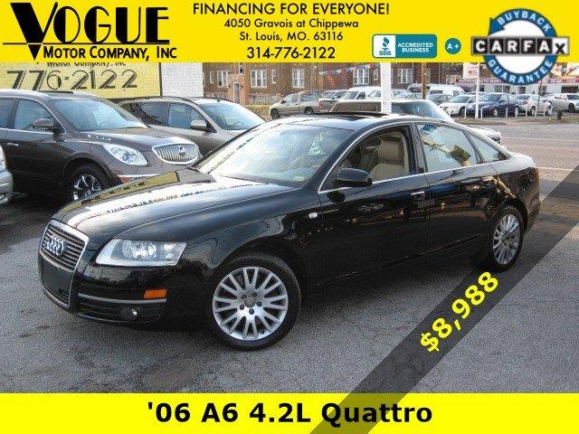 2006 Audi A6 for sale at Vogue Motor Company Inc in Saint Louis MO