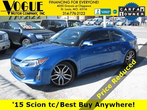 2015 Scion tC for sale at Vogue Motor Company Inc in Saint Louis MO