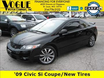 2009 Honda Civic for sale at Vogue Motor Company Inc in Saint Louis MO