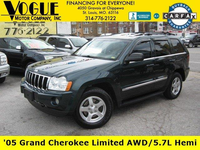 2005 Jeep Grand Cherokee for sale at Vogue Motor Company Inc in Saint Louis MO