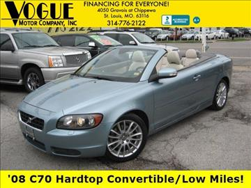 2008 Volvo C70 for sale at Vogue Motor Company Inc in Saint Louis MO