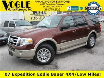 2007 Ford Expedition for sale at Vogue Motor Company Inc in Saint Louis MO