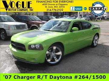 2007 Dodge Charger for sale at Vogue Motor Company Inc in Saint Louis MO