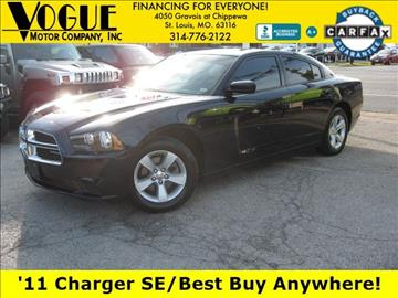 2011 Dodge Charger for sale at Vogue Motor Company Inc in Saint Louis MO