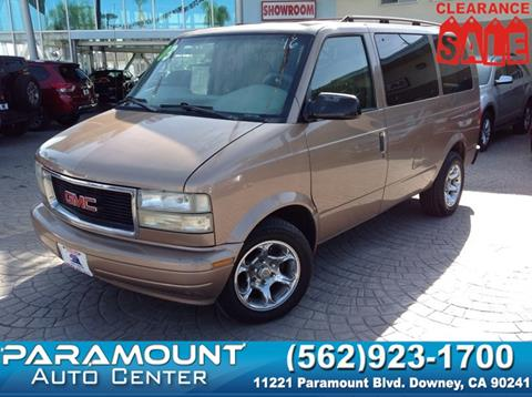2003 GMC Safari for sale in Downey, CA