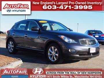 2008 Infiniti EX35 for sale in Manchester, NH