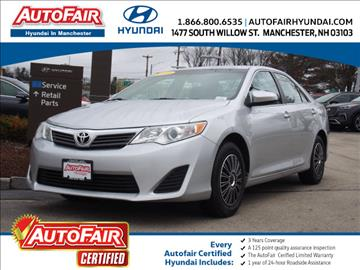 2013 Toyota Camry for sale in Manchester, NH