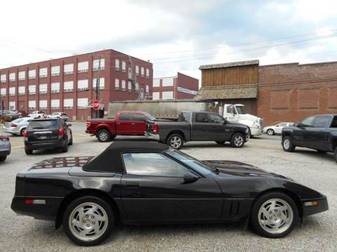 1990 Chevrolet Corvette for sale at River City Auto Center LLC in Chester IL
