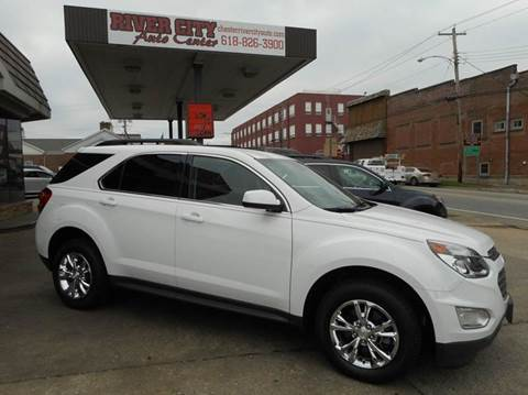 2016 Chevrolet Equinox for sale at River City Auto Center LLC in Chester IL