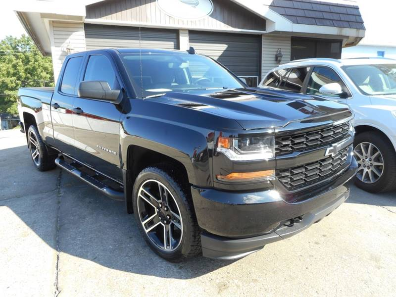 2018 Chevrolet Silverado 1500 4x4 Custom 4dr Double Cab 6.5 ft. SB - Chester IL