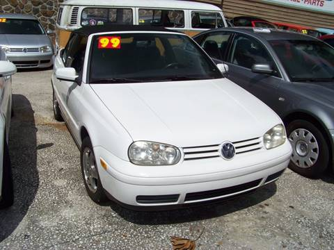 1999 Volkswagen Cabrio for sale in Jacksonville, FL