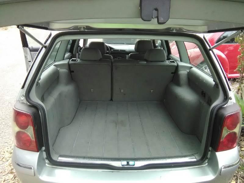 2002 Volkswagen Passat GLX 4dr Wagon V6 - Jacksonville FL