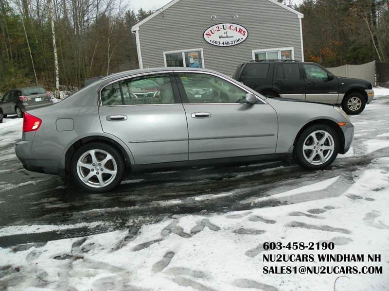 2004 Infiniti G35 for sale at Nu2u Cars in Windham NH