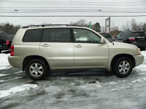 2003 Toyota Highlander for sale at Nu2u Cars in Windham NH