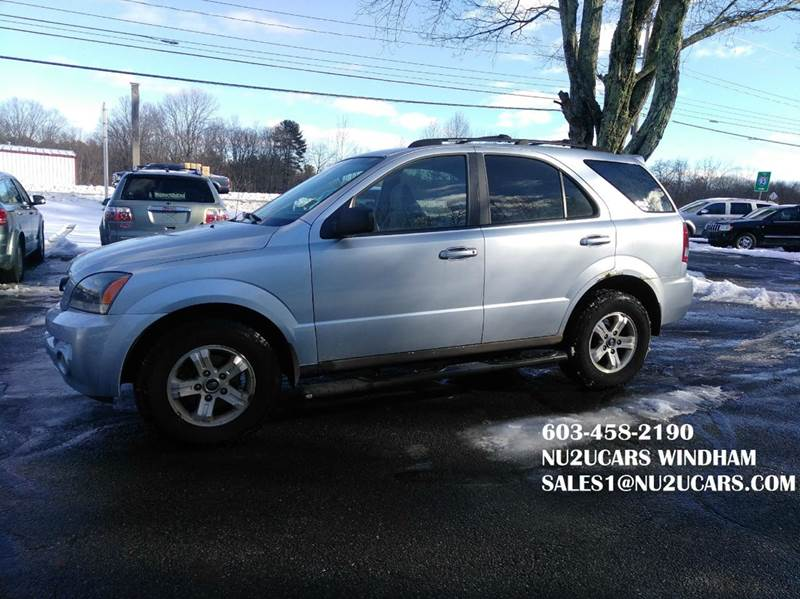 2005 Kia Sorento for sale at Nu2u Cars in Windham NH