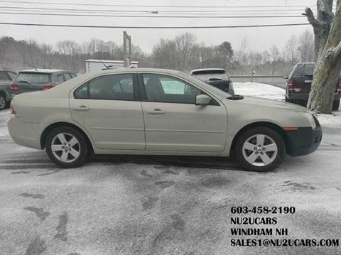 2008 Ford Fusion for sale at Nu2u Cars in Windham NH