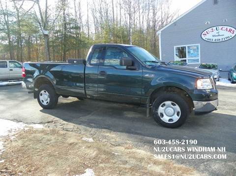 2004 Ford F-150 for sale at Nu2u Cars in Windham NH