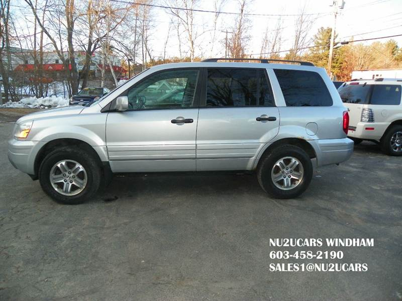 2004 Honda Pilot EX-L 4dr 4WD SUV w/Leather and Entertainment System - Windham NH