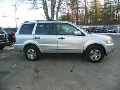 2004 Honda Pilot for sale at Nu2u Cars in Windham NH