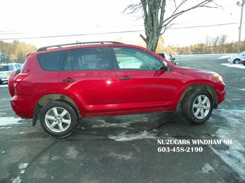 2006 Toyota RAV4 for sale at Nu2u Cars in Windham NH