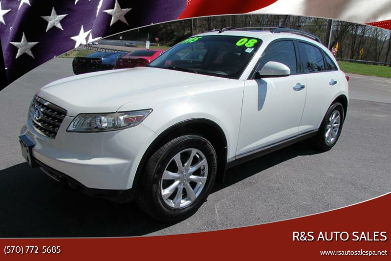 2008 Infiniti Fx35 In Linden Pa Rs Auto Sales