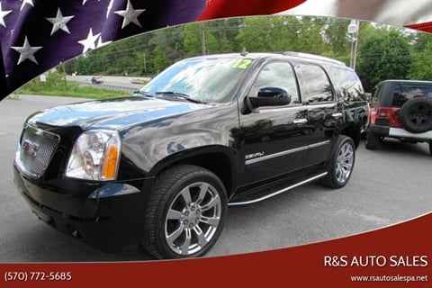 2012 GMC Yukon for sale in Linden, PA