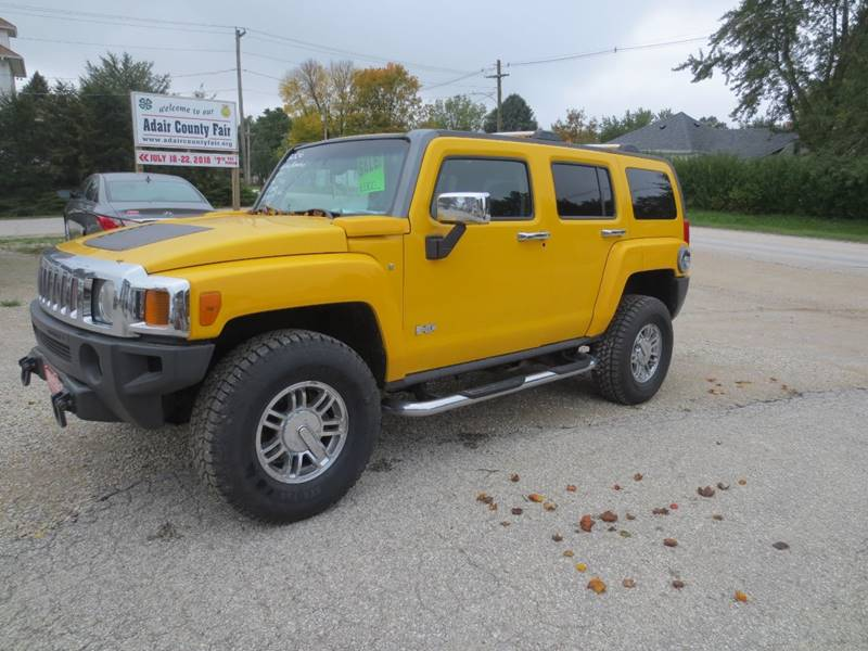 2006 Hummer H3 4dr Suv 4wd In Greenfield Ia Greenfield Auto Sales