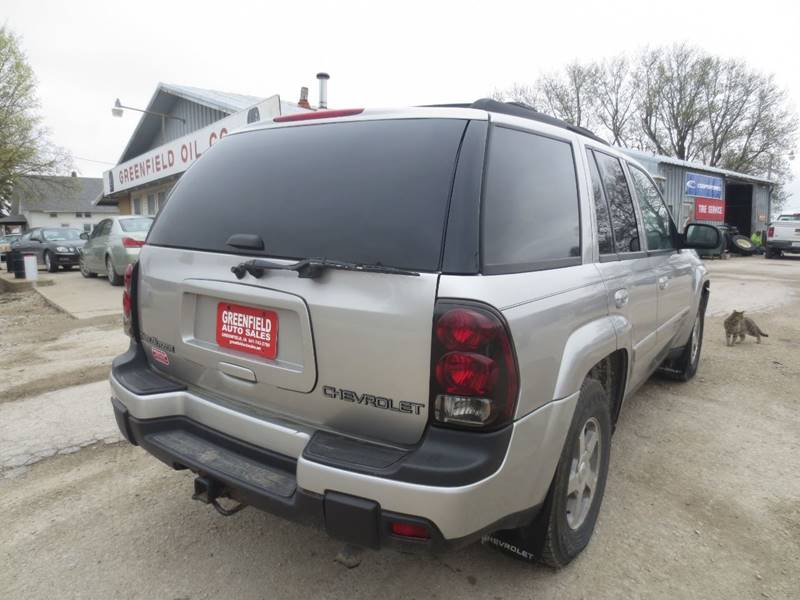 2004 Chevrolet Trailblazer LT 4WD 4dr SUV In Greenfield IA