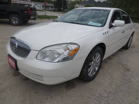 2009 Buick Lucerne for sale at GREENFIELD AUTO SALES in Greenfield IA