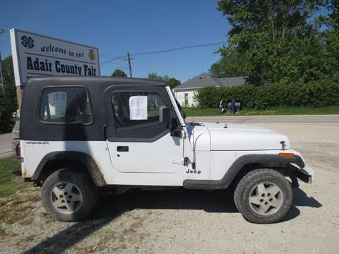 1995 Jeep Wrangler for sale in Greenfield, IA