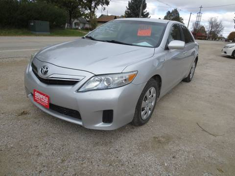 2010 Toyota Camry Hybrid for sale at GREENFIELD AUTO SALES in Greenfield IA