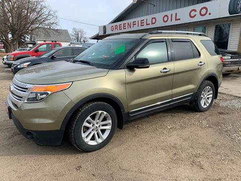 2013 Ford Explorer for sale at GREENFIELD AUTO SALES in Greenfield IA