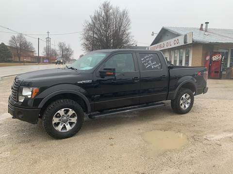 2011 Ford F-150 for sale at GREENFIELD AUTO SALES in Greenfield IA